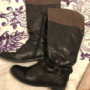 Merona Two Tone Riding Boots